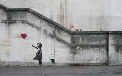 Banksy e i topi di casa